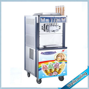 Frozen Yogurt Machine with Double Cooling System pictures & photos