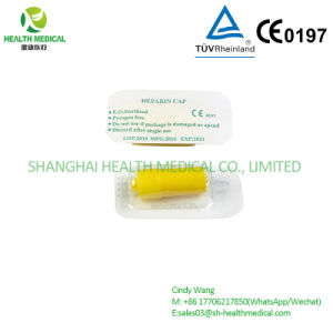 Disposable I. V. Cannula Yellow Heparin Cap, Eo Sterilized