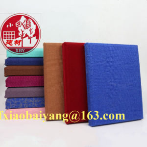 Soundproof Cloth Fabric Acoustic Wall Panel Decoration Panel Board Sheet pictures & photos