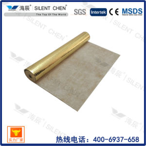 Rubber Roll with Gold Aluminum Film Sound-Absorbing Underlay