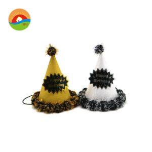 China Custom Design Fancy Happy Birthday Hat