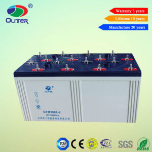 Rechargeable VRLA Battery Deep Cycle Battery 2V3000ah