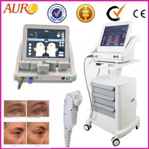 Skin Tightening 2017 Vertical and Portable Hifu Machine pictures & photos