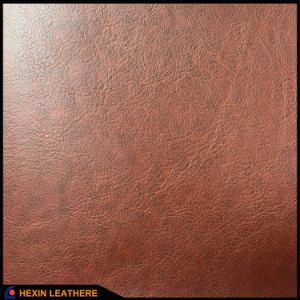 Synthetic PU Leather for Mobile Phone Case Hx-0728 pictures & photos