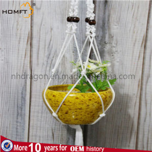 White Color Rope Hanging Plant pictures & photos