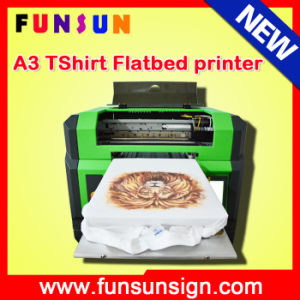 China Best Quality Digital A3 T Shirt Printing Machine Price 3D UV Printer pictures & photos