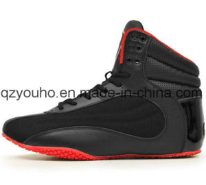 5da8519934fd Hightop Men′s Colorful Suede Leather Weightlifting Bodybuilding Gym Shoes