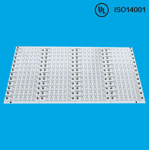 LED Aluminum Black Soldermask PCB Board pictures & photos