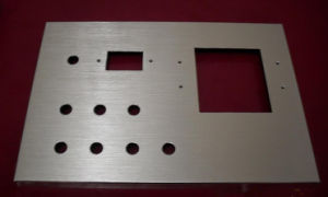 CNC Stamping Metal Part Polishing Perforated Precise Product