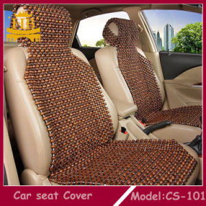 Cool Wooden Bead Car Chair Massage Seat Cushion Cover