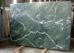 High Quality Antique Finish Green Marble Flooring Slab