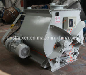High Efficient Double Shaft Paddle Mixer pictures & photos