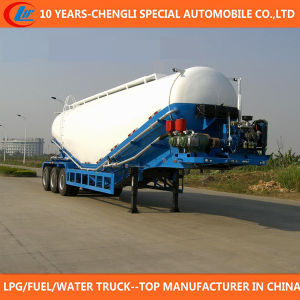 3 Axle Trailer 56cbm Dry Bulk Cement Trailer for Sale pictures & photos
