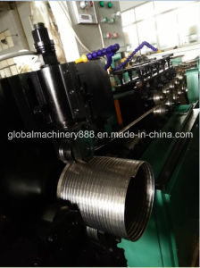 Interlocked Flexible Metallic Hose Pipe Forming Machine