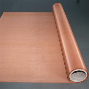 Red Copper Wire Mesh for Chinaware Printing (0.914m width) pictures & photos