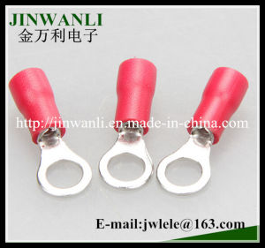 Rvs1.25-4 Copper Ring Type Insulated Terminal pictures & photos