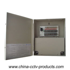 12VDC Premium CCTV Power Distribution Unit with 18 Cannels (12VDC10A18PN) pictures & photos