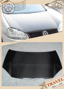 Golf V Gti Carbon Fiber Hood Bonnet OEM Style pictures & photos