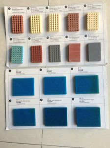 Perforated Silicone Sponge Rubber Sheet Size 10mm X 0.9m X 1.8m pictures & photos
