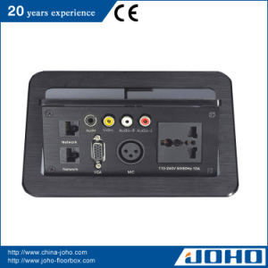 China Multi Media Desk Pop Up Outlet Power Plugs Connection Box For - Conference table pop up box