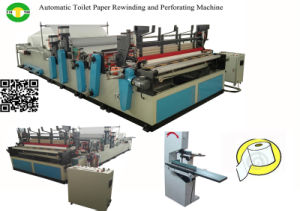 Automatic Toilet Tissue Paper Making Machine Production Line pictures & photos