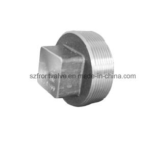 Forged Steel High Pressure Threaded/Sw Square Plug pictures & photos