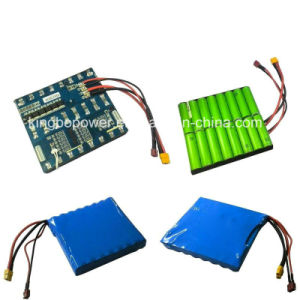Garden Tool Battery 3s Li-ion Batteries for Lawn Mower
