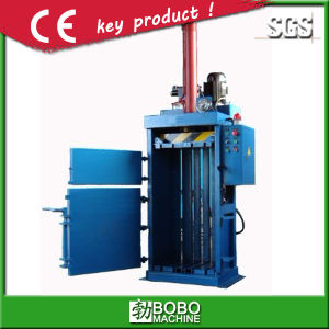 Hydraulic Vertical Plastic Baler Machine pictures & photos