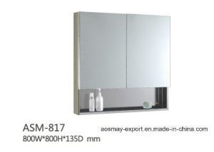 Stainless Steel Mirror Cabinet (ASM-817)