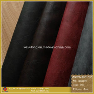 Brushed PU Leather for Shoes (S106) pictures & photos