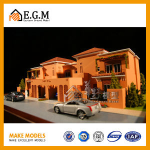 The Beautiful High Quality ABS Villa Model/Real Estate Model/Building Model/All Kind of Signs Manufacturer