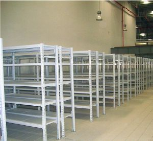 Medium Duty Rack with Step Beam and Shelves pictures & photos