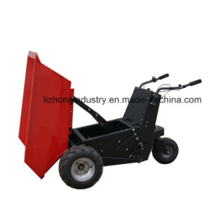 1100W 500kgs Self Dump Electric Mini Dumper pictures & photos