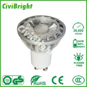 Dimmable Available 6W COB LED GU10 Spotlights pictures & photos