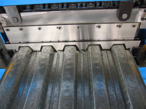 H75 Steel Roofing Floor Deck Roll Forming Machinery pictures & photos