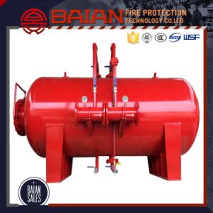 Manual Control Horizontal Type Foam Bladder Tank for Sale pictures & photos