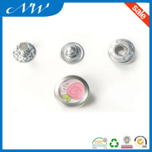 Custom Fashion Metal Snap Button with High Quality