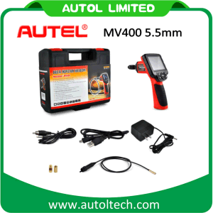 Autel Maxivideo Mv400 Digital Videoscope with 5.5mm Diameter Imager Head Inspection Camera Mv 400 Multipurpose Videoscope pictures & photos