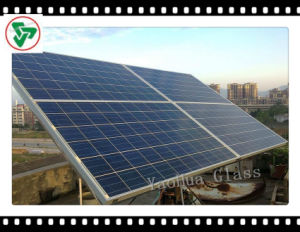 3.2mm/4.0mm Ar-Coating Tempered Ultra Clear Solar Glass for Solar Panel pictures & photos