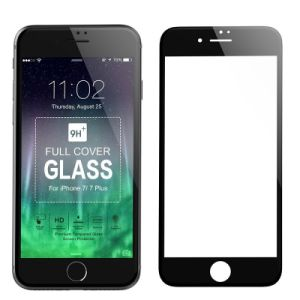 9h 2.5D Full Coverage Silk Printing Glass Screen Protector for iPhone 7 (4.7 inch) (0.33mm)