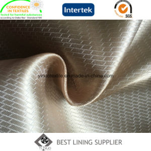 100 Polyester Shiny 80GSM Two Tone Satin Dobby Lining Winter Coat Lining Fabric pictures & photos