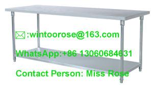 China Best Quality KnockedDown Stainless Steel Kitchen Equipment - Restaurant equipment stainless steel table