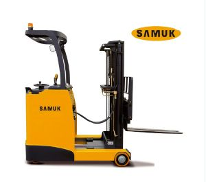 1.5-2.0ton Samuk Electric Reach Truck with Zapi AC System pictures & photos