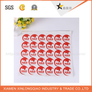Custom Vinyl Writeable Kraft Sticker Paper Label Printing Adhesive Sticker pictures & photos