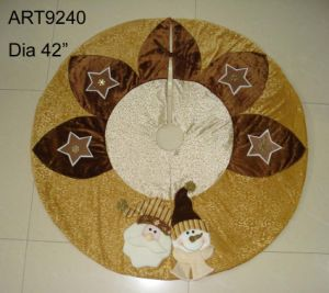 Santa Snowman Tree Skirt-Christmas Decoration pictures & photos
