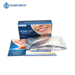 China 6 Led Light Non Peroxide Or Peroxide Teeth Whitening Home