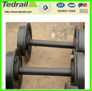 Good Quality Wheel Sets for Freight Wagon pictures & photos