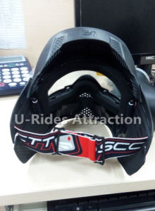 Scott mask, double layer anti fog mask black color for paintball game pictures & photos