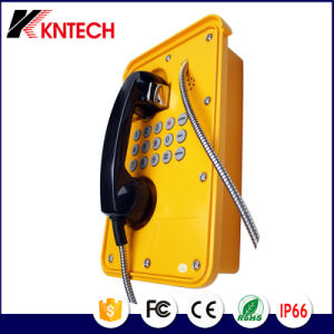 Electronic Security Products for Waterproof Telephone Knzd-09 Kntech pictures & photos