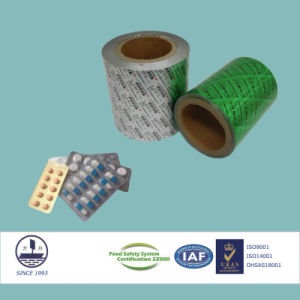 ISO9001 Certified 9-Colored and Printed Composite Film for Pharmaceutical Packaging